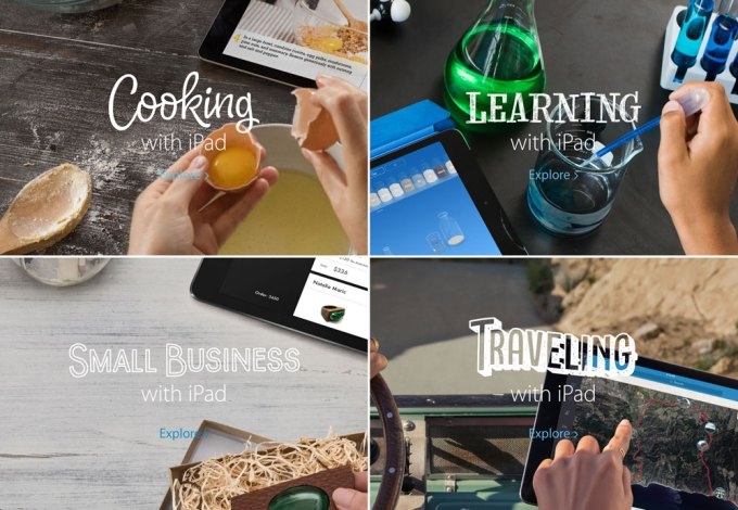Kampania Everything changes with iPad