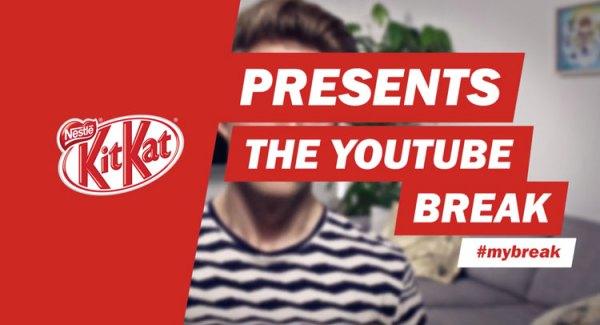Baton YouTube KitKat w Wielkiej Brytanii