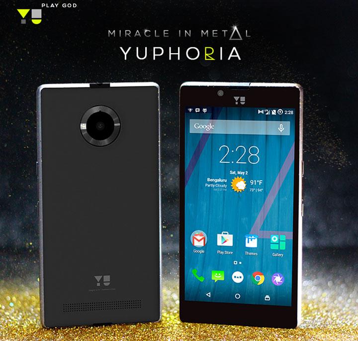 YU YUphoria - smartfon