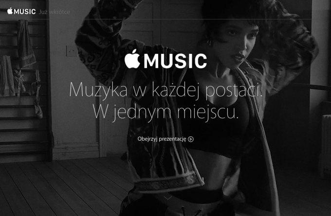 Polskie strony usługi Apple Music