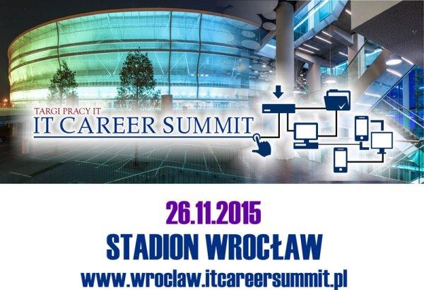 Targi pracy IT Career Summit 2015 Wrocław