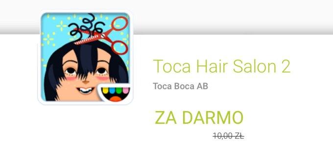 Toca Hair Salon 2 (aplikacja za darmo w Google Play)