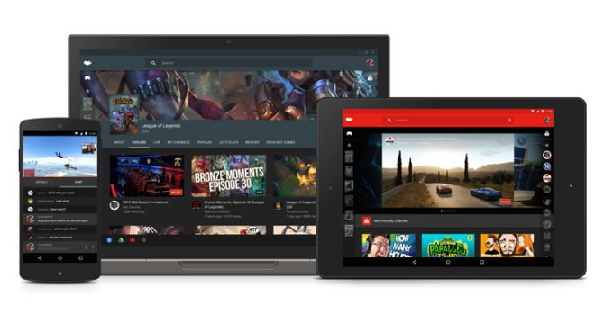 YouTube Gaming na mobile'a i desktop