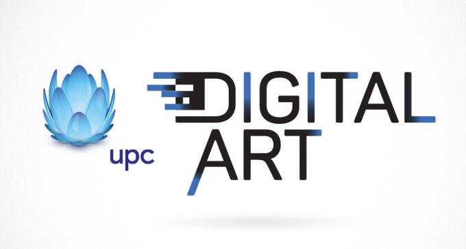 Logo konkursu UPC Digital Art