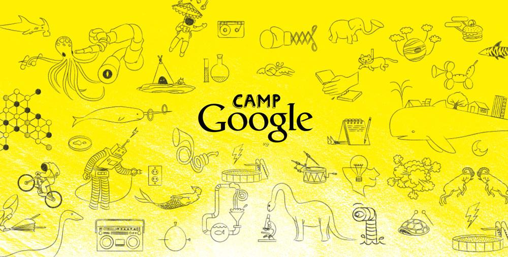 Camp Google - online'owy Obóz Google'a dla dzieci