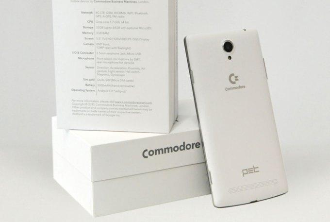 Smartfon Commodore PET