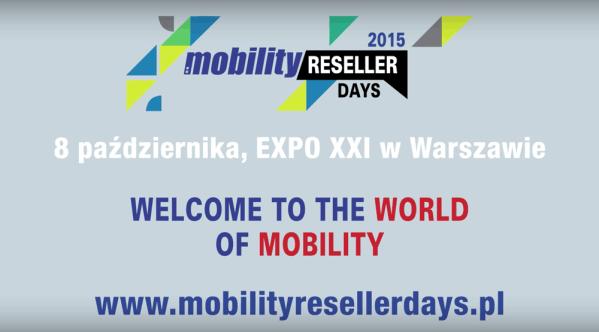 Zapowiedź wideo Mobility Reseller Days 2015
