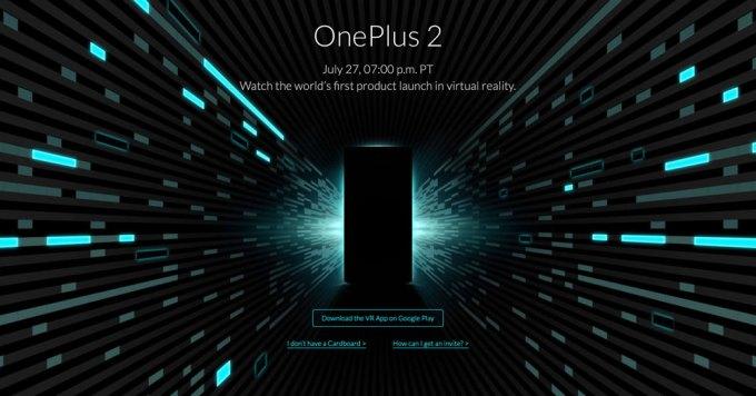 OnePlus 2 Launch app