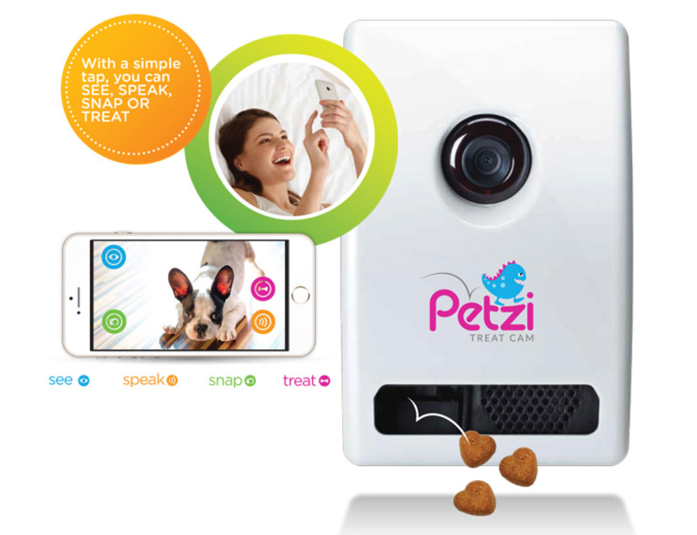 Petzi Treat Cam + aplikacja mobilna