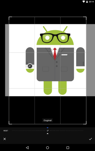 Instrukcja zmiany zdjęcia profilowego w Androidzie (krok 5)