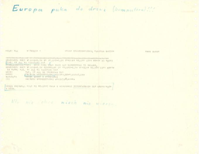 Pierwszy polski e-mail (17.07.1990 r.)