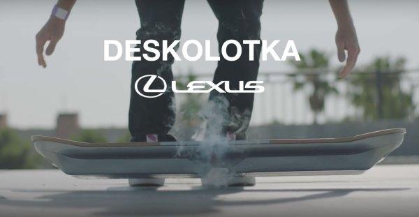 Deskolotka od Lexusa już jest!