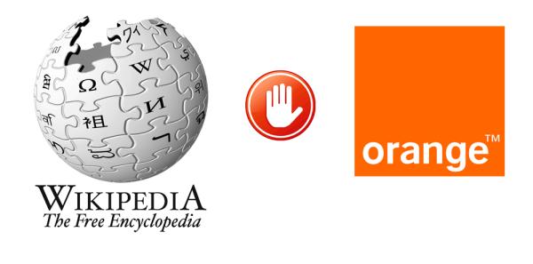 Wikipedia blokuje użytkowników Neostrady
