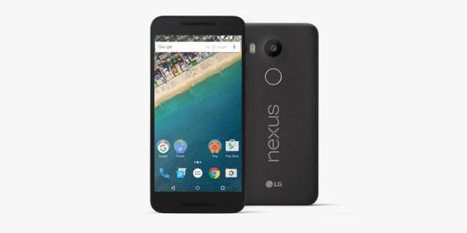 LG Nexus 5X (czarny)