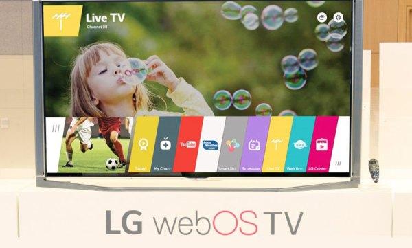 LG zaktualizuje starszą wersję oprogramowania webOS