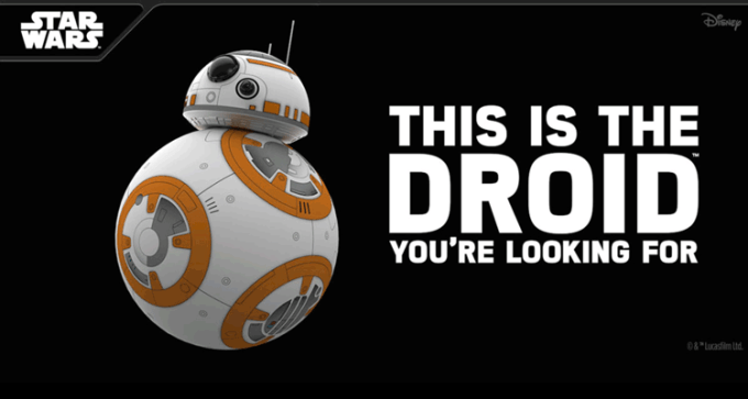 Robot BB-8 od Sphero (Star Wars)