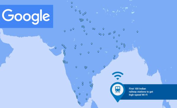 Darmowe Wi-Fi od Google'a na 400 stacjach w Indiach