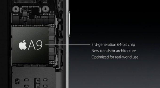 iPhone 6s - procesor