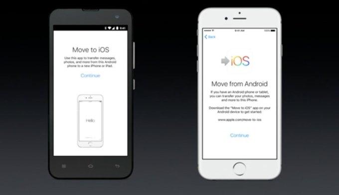 Aplikacja migracji z Androida na iOS-a