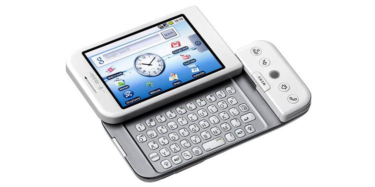 T-Mobile G1 - pierwszy smartfon z Androidem