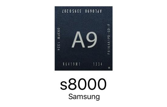 CPU Samsung A9 iPhone 6s (s8000)