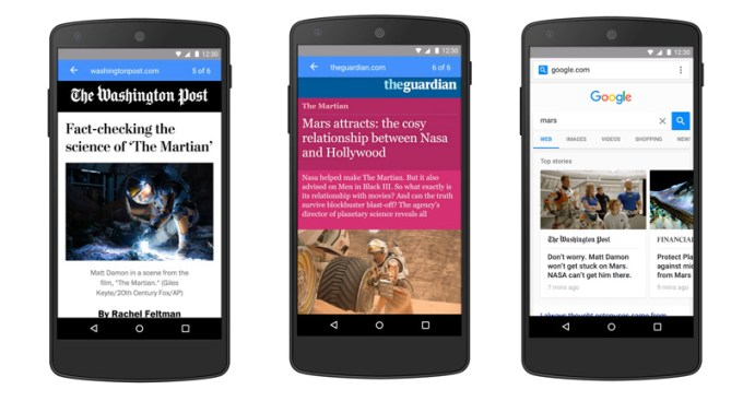 Accelerated Mobile Pages - Google projekt