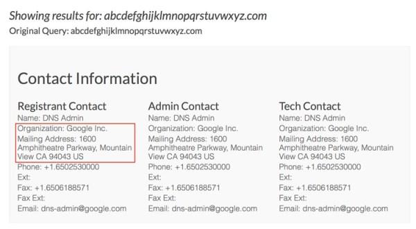 Google kupiło domenę abcdefghijklmnopqrstuvwxyz.com