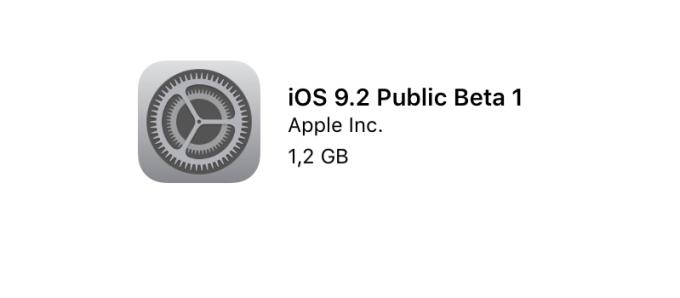 iOS 9.2 Public Beta 1