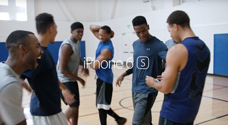 iPhone 6s - spot reklamowy The Camera