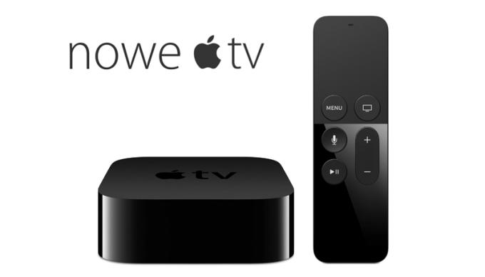Nowe Apple TV 4. generacji (cena w Polsce)