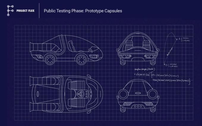 Project Flux - tajny samochód Google'a - prototyp