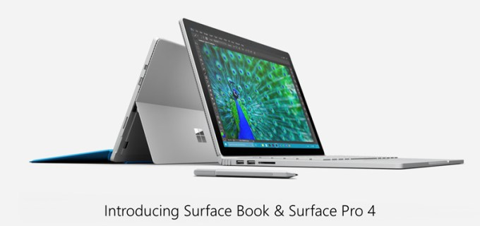 Microsoft Surface Book i Surface Pro 4