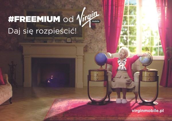 Oferta #FREEMIUM od Virgin Mobile z darmowym internetem mobilnym