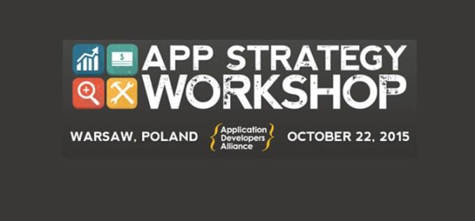 Warsaw App Startegy Workshop 2015