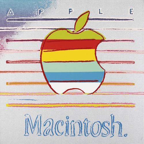"Obraz ""Macintosh"" Andy Worhol"