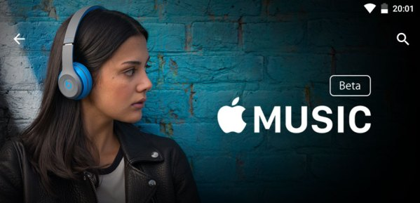Apple Music Beta na Androida w Google Play