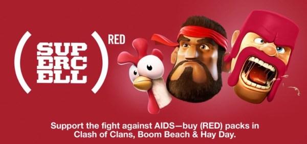 Supercell z Apple w kampanii Światowego Dnia AIDS 2015