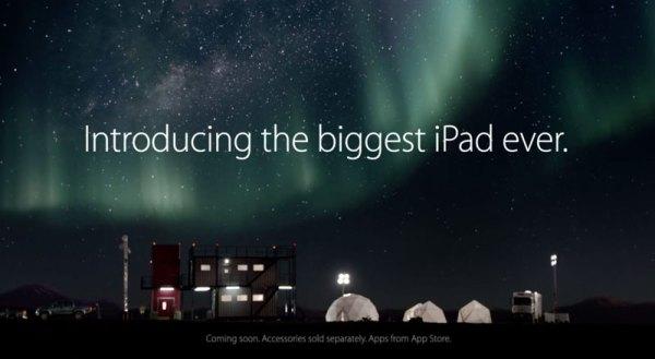 Pierwsza reklama iPada Pro