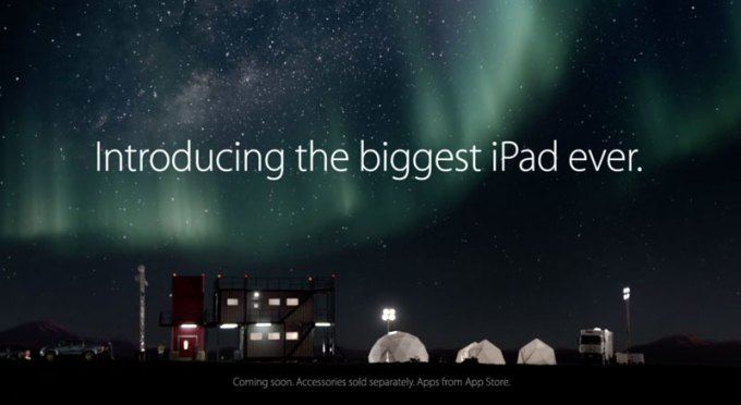 iPad Pro - Introducing the biggest iPad ever.