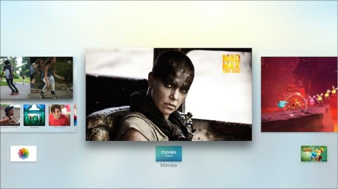 Przełączanie aktywnych aplikacji w nowym Apple TV