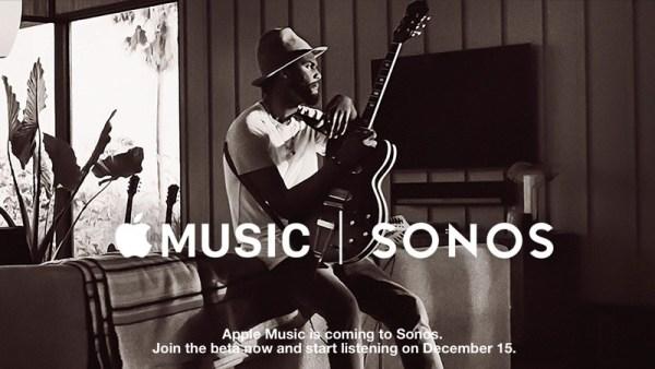Apple Music z głośników Sonos już 15 grudnia