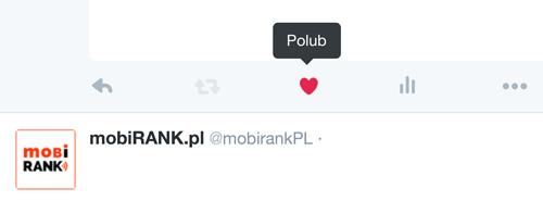 """Symbol """"Polub"""" na Twitterze"""