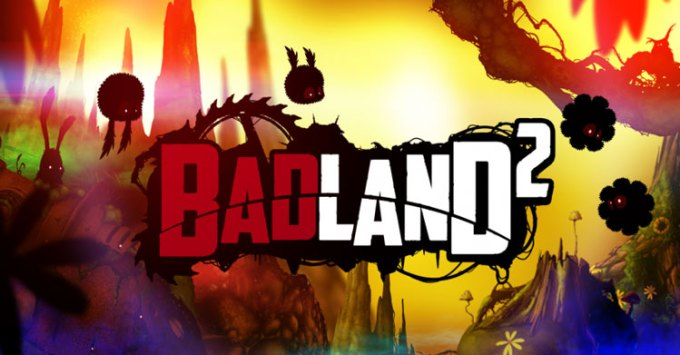 BADLAND 2 - logo gry mobilnej