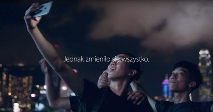 Polska reklama iPhone 6s od Orange Polska