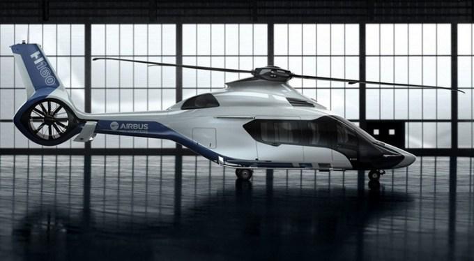 Helikopter Airbus H160, podróż Uberem w helikopterze