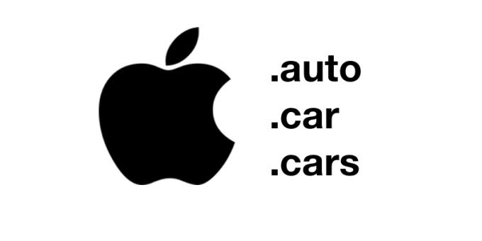 Apple zarejestrowało domeny Apple.car Apple.cars Apple.auto