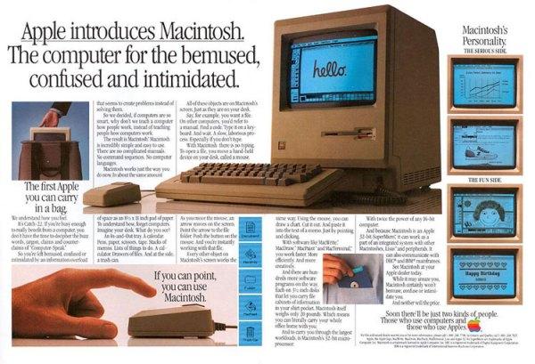 Macintosh obchodzi dzisiaj 32. urodziny