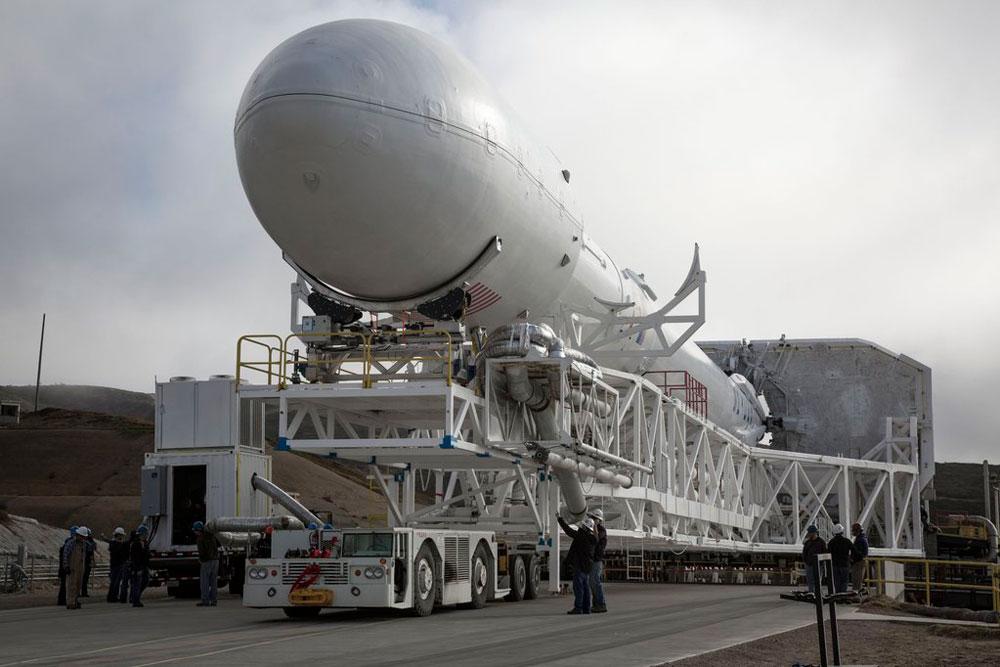Start rakiety Falcon 9 z satelitą Jason-3 na żywo!