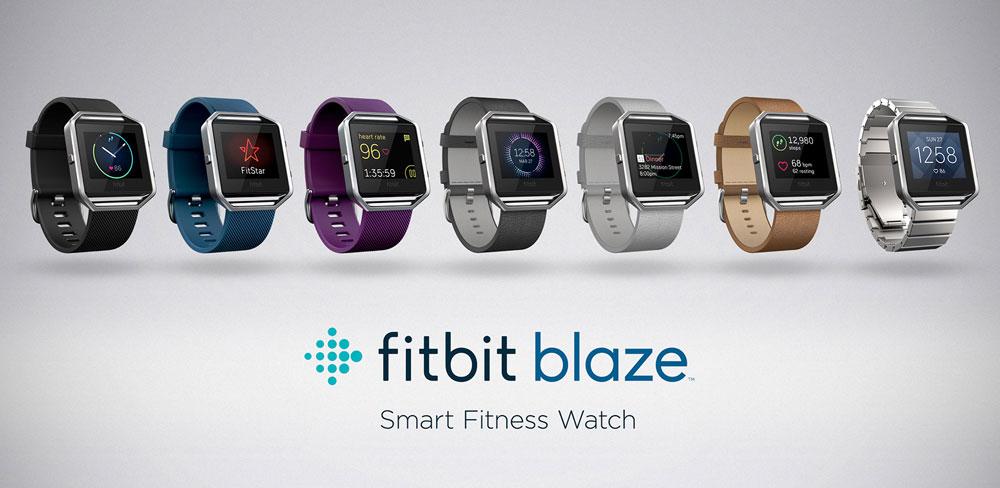 Linia zegarków Fitbit Blaze