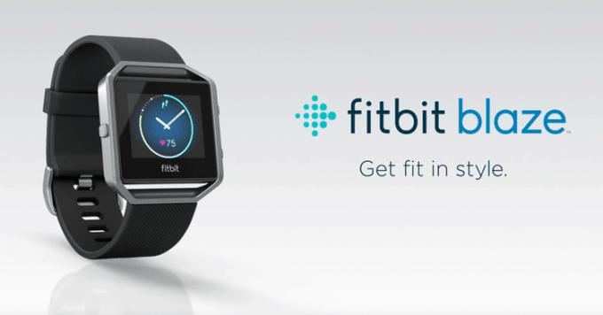 Fitbit Blaze (smartwatch)